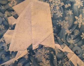 State of Alaska Paper Piecing Block by Judy Gauthier