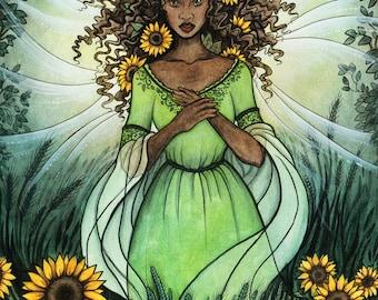 Queen of Summer_Art Print_11x14