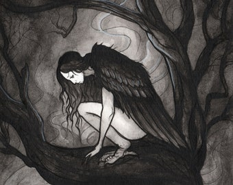 The Harpy 11x14 Art Print