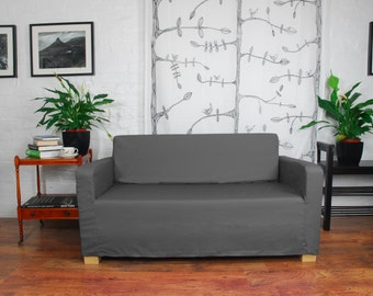 Stupendous Ikea Ullvi Sofa Bed Slip Cover In Distressed Effect Leather Gmtry Best Dining Table And Chair Ideas Images Gmtryco