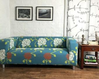 Ikea Klippan 2 Seat Sofa Cover Made In Choice Of 5 Stunning Patterns