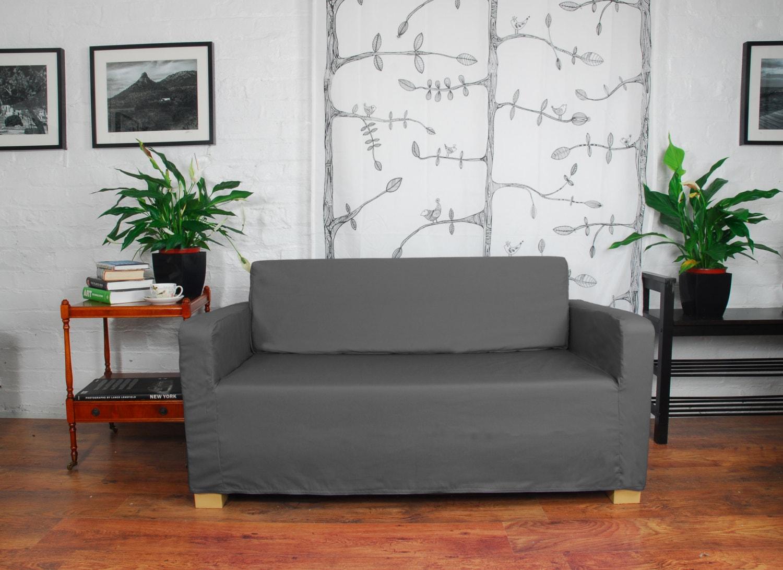ikea solsta sofa bed slip cover in 20 colours available etsy rh etsy com