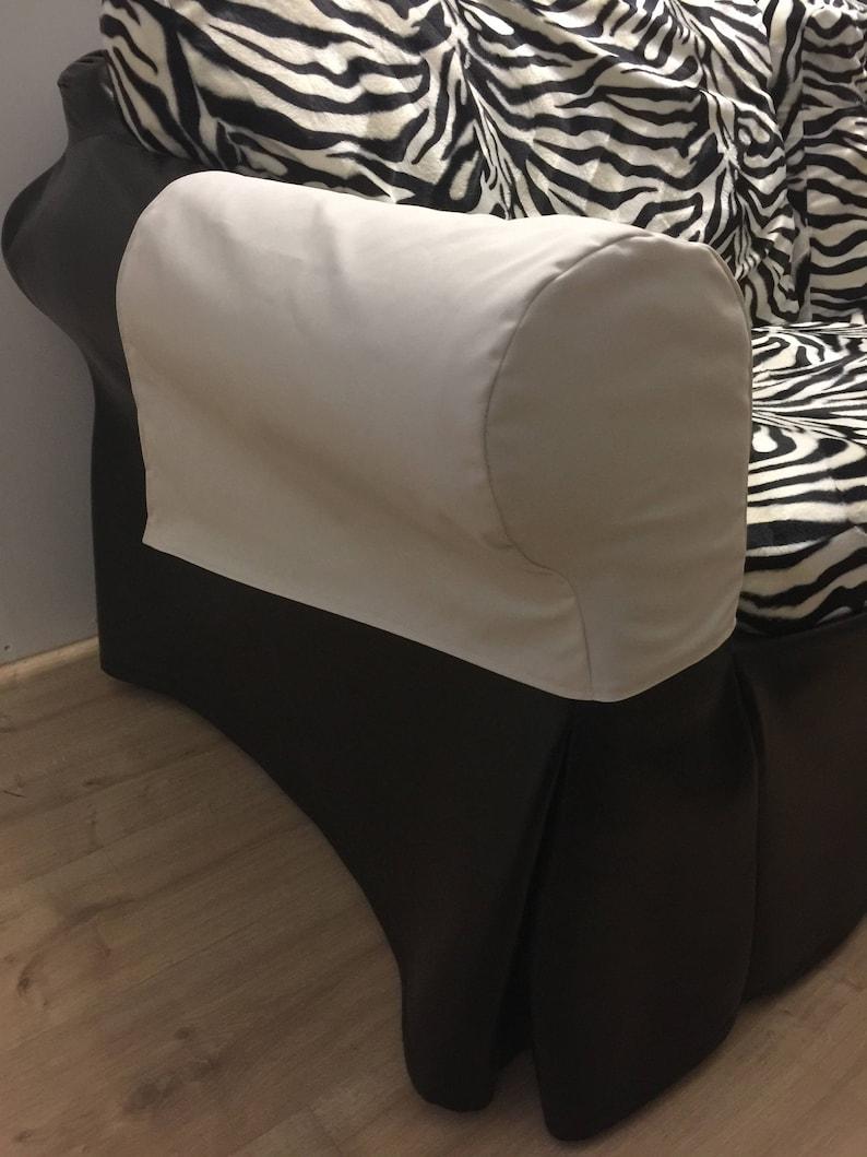 Custom Ikea Ektorp To For Made Chair Or Covers Order Antimacassar Sofa Arm WerxBQEdCo