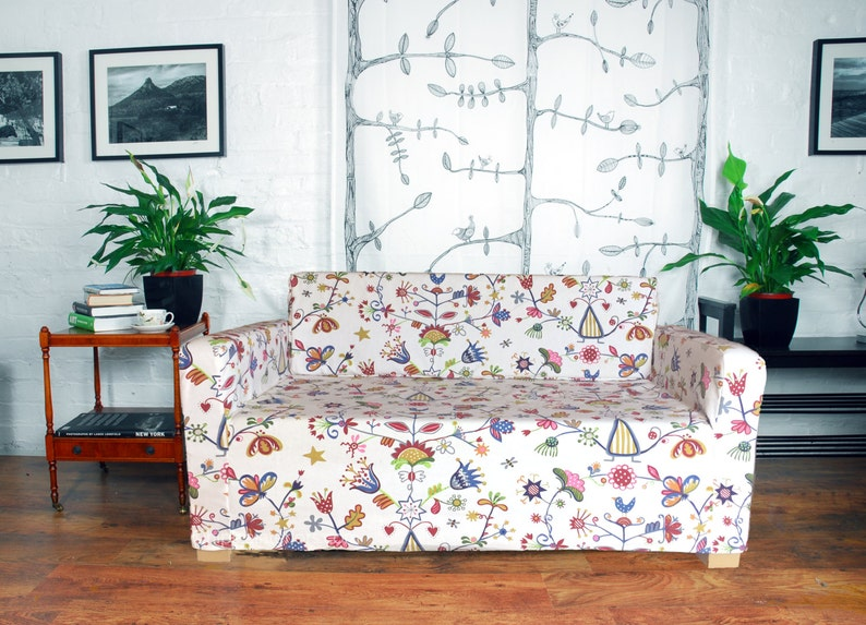 Fantastic Slip Cover For The Ikea Solsta Sofa Bed In Choice Of 5 Cotton Fabrics Download Free Architecture Designs Lectubocepmadebymaigaardcom