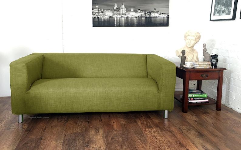 Ikea Divano Letto Solsta.Gamma Di Klippan Di Ikea Klobo Solsta Divano Letto Copridivano In Lino Guardare Scelta Del Tessuto Di 15 Colori