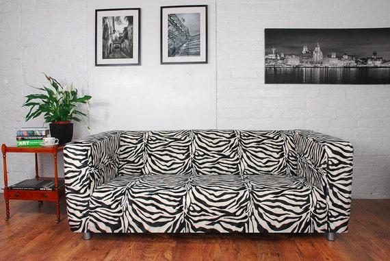 Fantastic Ikea Klippan Sofa Range Covers In Zebra Giraffe Cow Or Leopard Faux Fur Fabric Bralicious Painted Fabric Chair Ideas Braliciousco