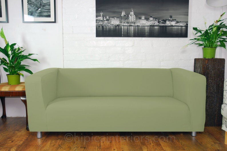 Ikea Klippan Range Sofa Covers In many different colours. Easy sage