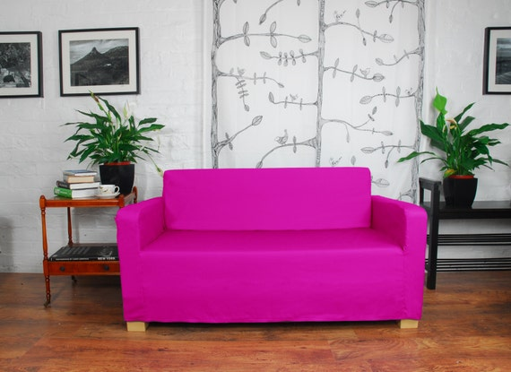 Phenomenal Slip Cover To Fit The Ikea Ullvi Sofa Bed Cerise Gmtry Best Dining Table And Chair Ideas Images Gmtryco