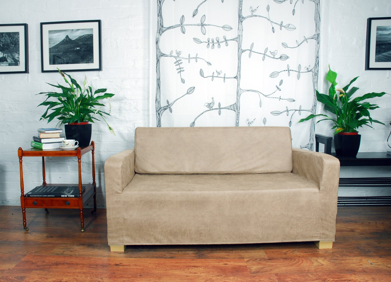 housse de canap lit ikea ullvi vintage en d tresse cuir. Black Bedroom Furniture Sets. Home Design Ideas