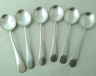 Soup Spoon  Spoons 17.2 cm Yamato Nomizu EPNS YAMACO Cutlery