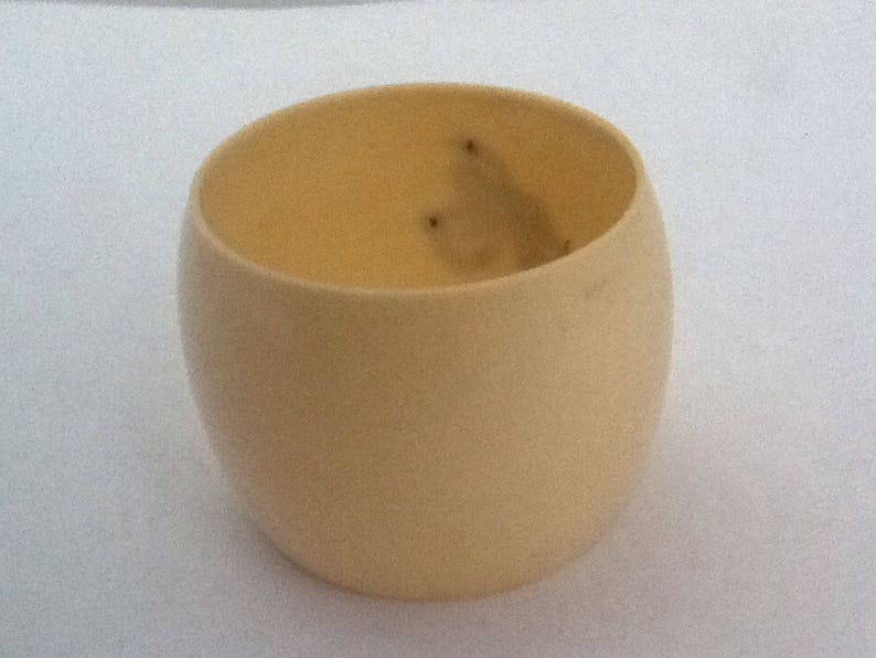Vintage Antique Celluloid /& Sterling Silver Initial /'A/' Napkin Ring