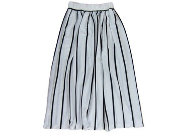 Red White Dot Size 18-24 Months CLEARANCE  Set of 5 Girls Maxi Skirts Pink White Stripe Orange Daisy Orange  Black Zebra Stripe Geo