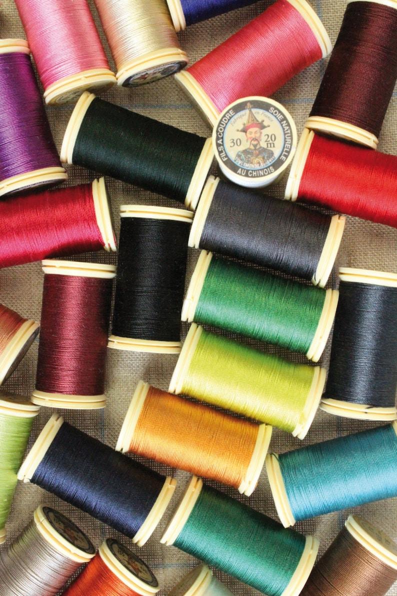 Perlé pure silk thread number 30  20m spool image 0