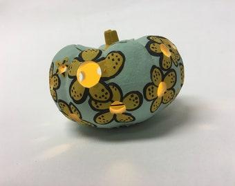 Mini ceramic pumpkin