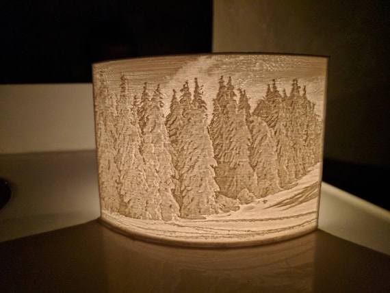 Lithophane Tea Light