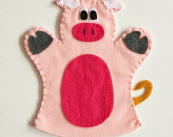 Pig Hand Puppet