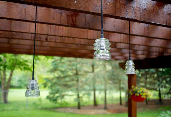 image 0 - Outdoor Insulator Pendant Lights / Pergola Patio Deck Etsy