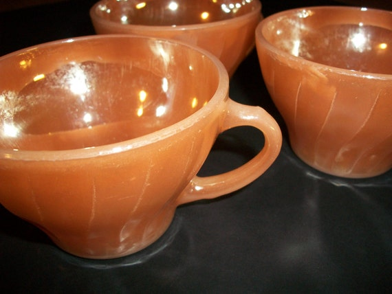 Fire King Lustre Cups Free Shipping