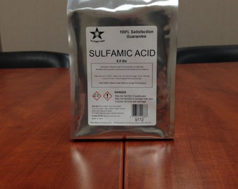 Sulfamic Acid 25 Lb Pack FREE SHIPPING!! 9775
