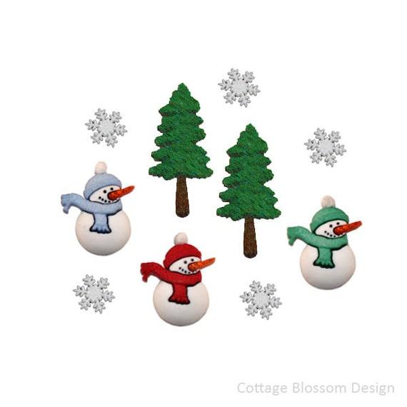 image 0 - Christmas Buttons