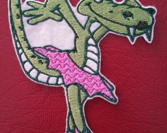 e6091ab87eebf3 Crocodile applique Crocodile iron on patch Kids applique Children patches  Crocodile patch Applique crocodile