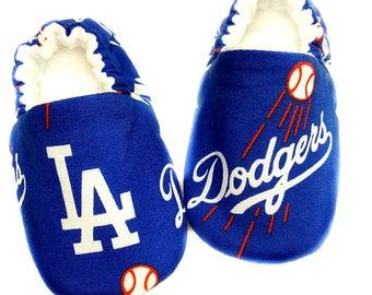 LA Dodgers baby booties 3d89d2a1b5b