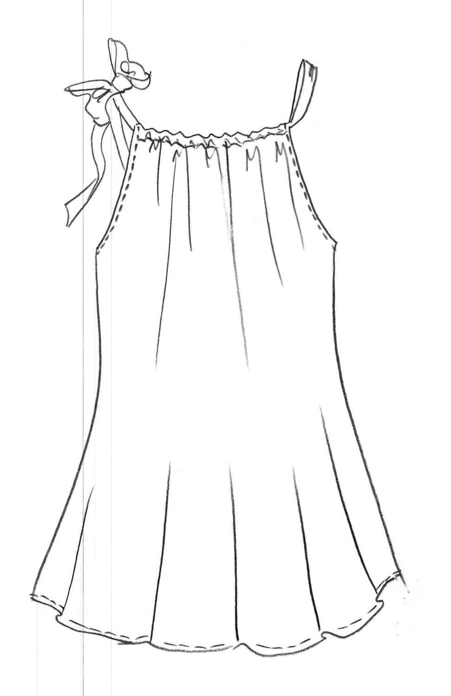 Pillowcase Dress Pdf Pattern Digital Downloadtoddler Dress Etsy