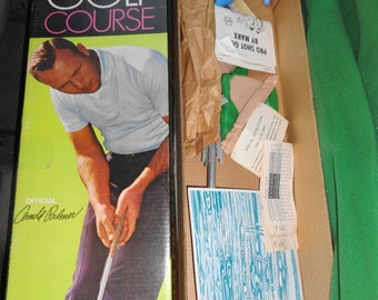 1960s Arnold Palmer Indoor Golf Course by Marx.