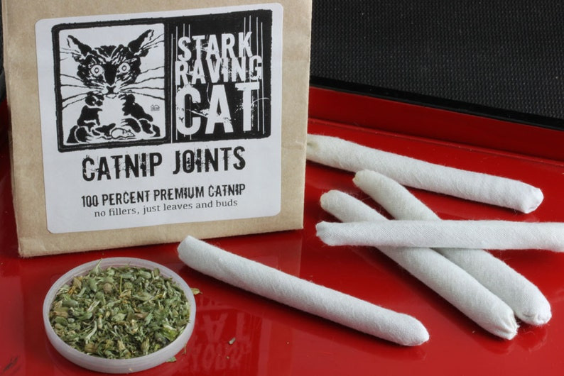 Catnip Joints Cat Toy 3 pack or 5 pack image 0