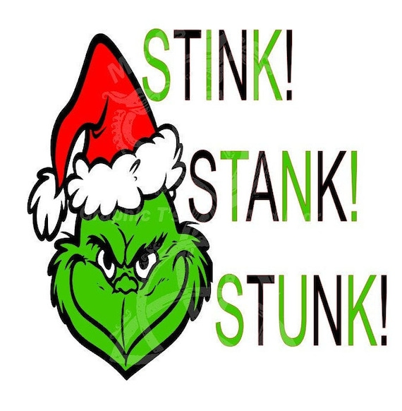 Stink Stank Stunk Graphic Cutting File Etsy
