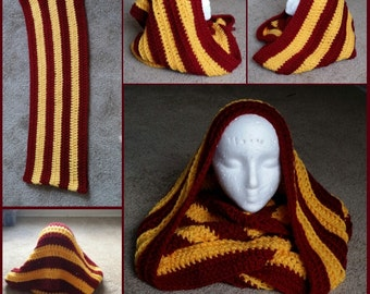 Striped Infinity Scarf *Made To Order*