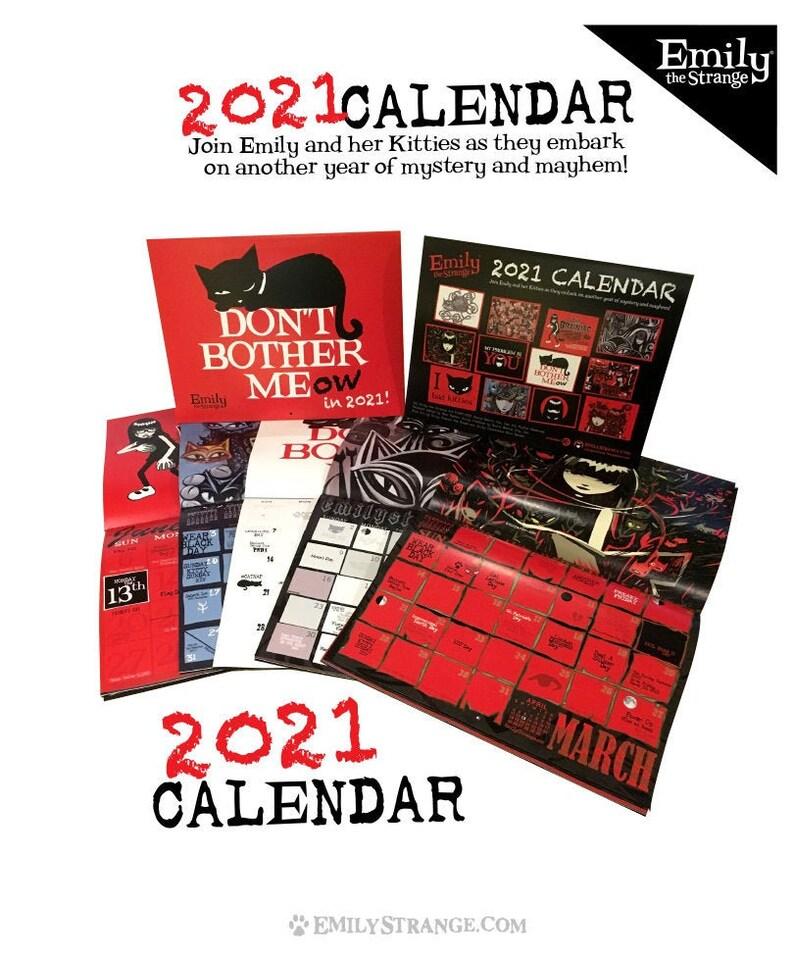 Emily The Strange Kalender 2021