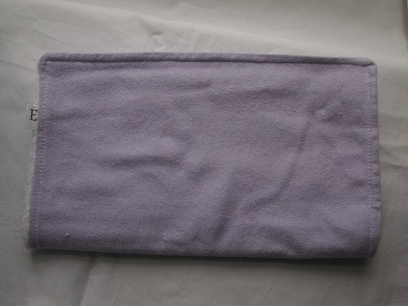 Burp Cloth Lavender image 0