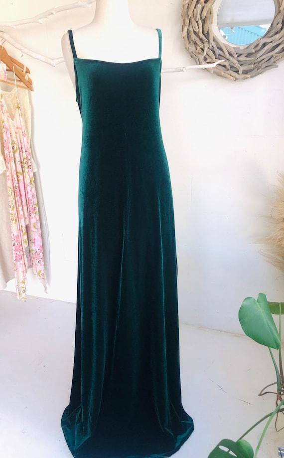 Luxe Velvet Maxi Dress, Boho retro velvet long Dress