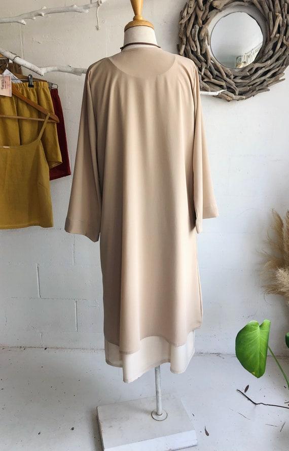 Pearl Georgette Sheer long Jacket, Wedding evening jacket.