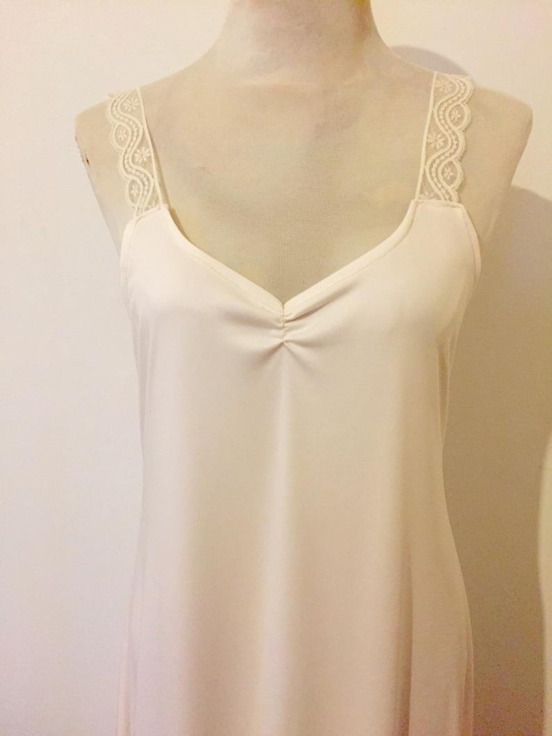Vintage Slip Dress for Lace Bridal Kaftan Wedding Dress image 0