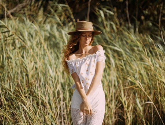 Wildflower Cotton Gypsy sleeve top