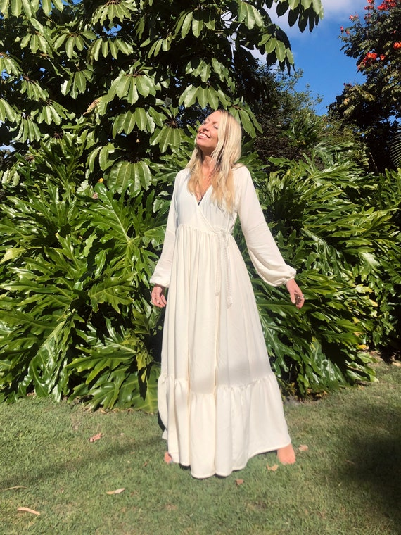 Florence Gypsy Bell puff Sleeve dress