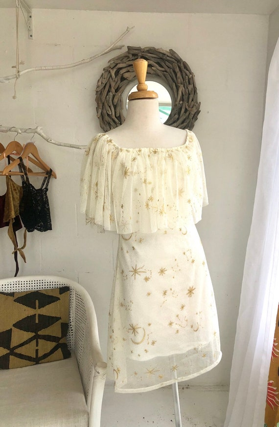 Alessia Stars and Moon dress and Veil