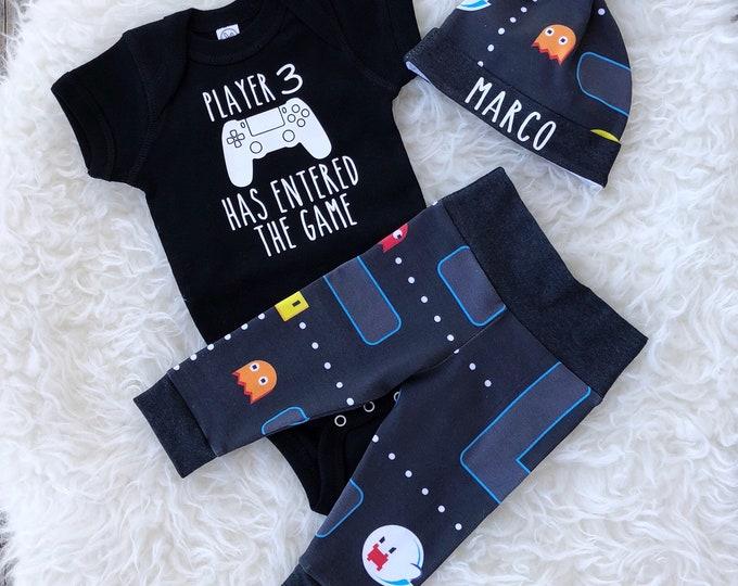 Featured listing image: Pacman Newborn Set - Black