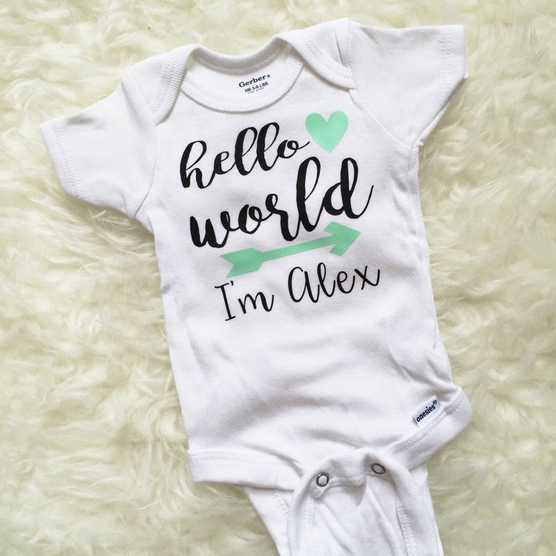 Newborn Going Home Outfit Baby Boy Going Home Outfit Newborn Set Newborn Set Hello World Hello World Newborn Outfit Hello World