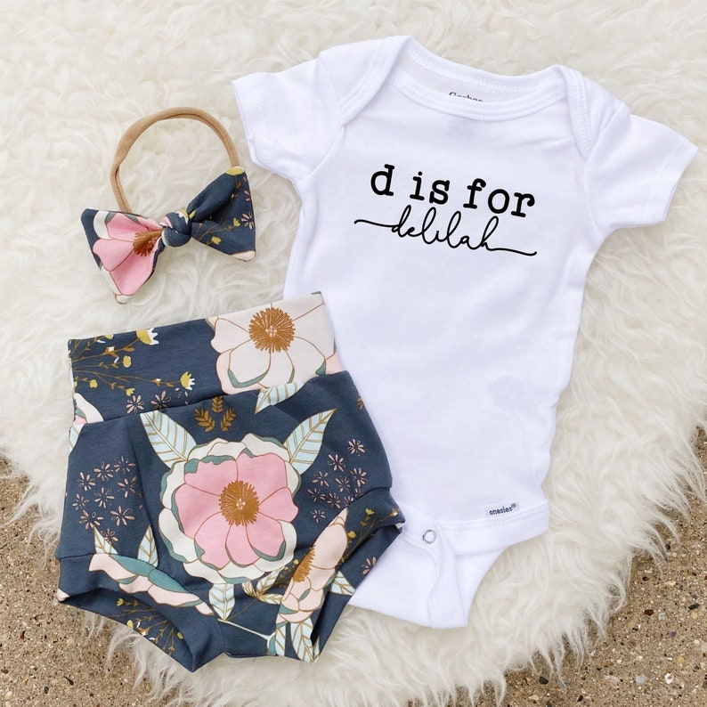 Newborn Girl Coming Home Outfit Newborn Baby Girl Outfit image 0