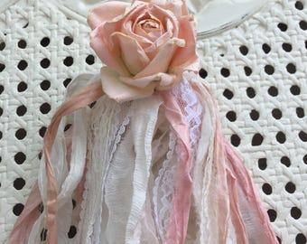Shabby chic flower decoration