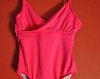 Swimsuit Esmera Highcut Lined Swimsuit red