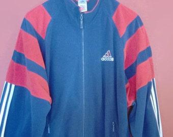cba8c1dcba592 Adidas velour jacket | Etsy
