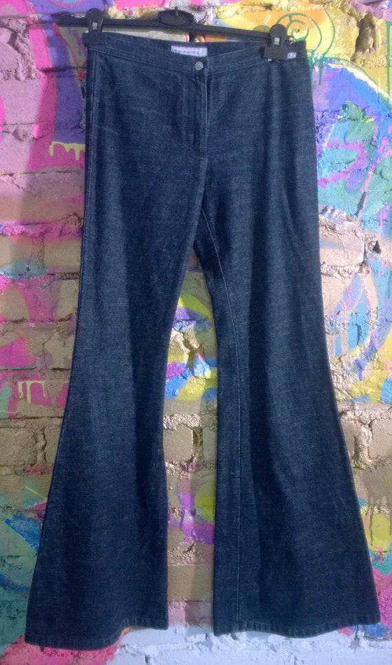 Vintage 90s Jeans Bellbottom Fornarina Jeans LowCut Size 28 xs s