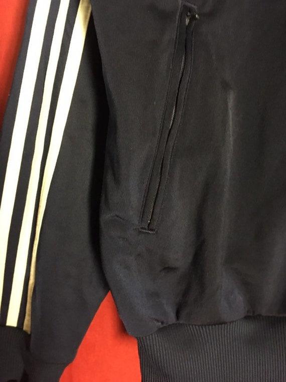 Adidas Track Jacket Small Floral Print silk