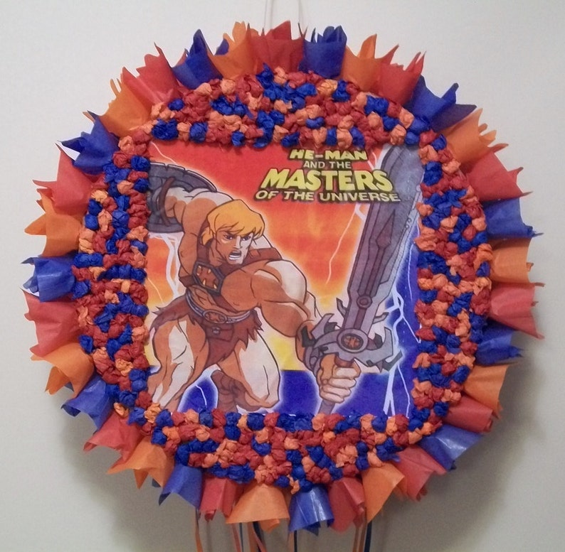 He Man And The Masters Of Universe Pull String Or Hit