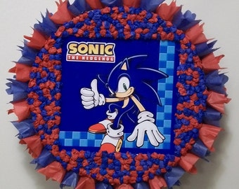 Sonic the Hedgehog Pull String or Hit Pinata