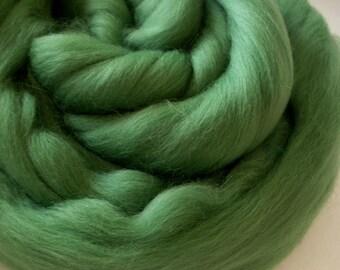 16 Micron ExtraSuperfine Merino Wool Top 4 ounces Pearl